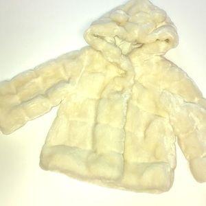 Baby Gap fur coat